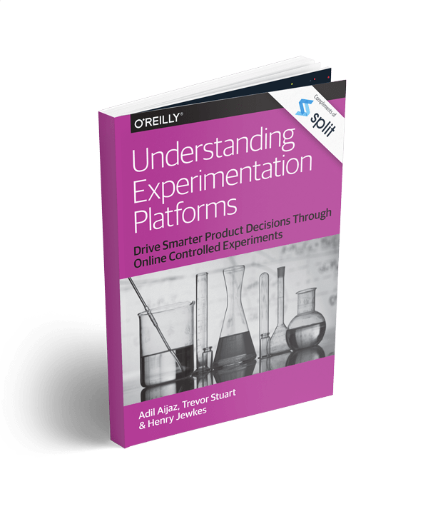 Cover of the book Understanding Experimentation Platforms by OReilly and Split